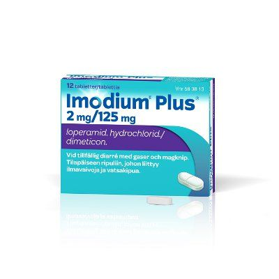 IMODIUM PLUS 2/125 mg tabl 12 fol