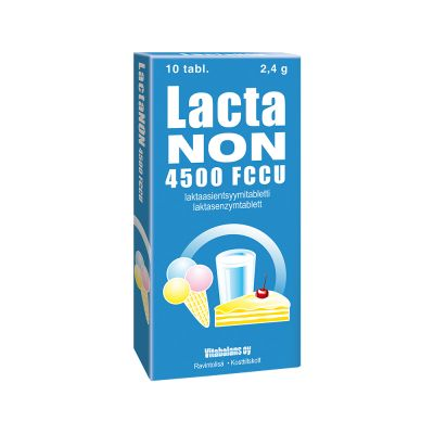 LACTANON 4500 FCCU X10 TABL