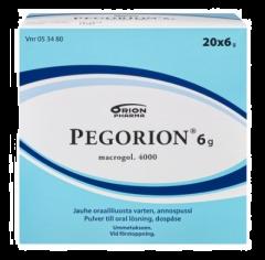 PEGORION 6 g jauhe oraaliliuosta varten, annospussi 20x6 g