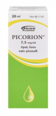 PICORION 7,5 mg/ml tipat, liuos (tiputin)20 ml