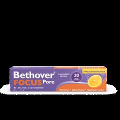 Bethover Focus Pore appelsiini 20 poretabl