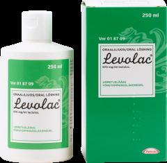 LEVOLAC 670 mg/ml oraaliliuos 250 ml
