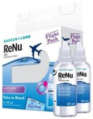 RENU MULTI-PURPOSE SOLUTION FLIGHT PACK X2X60 ML