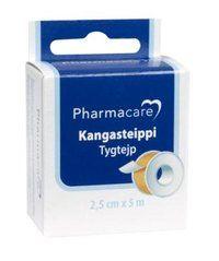Pharmacare kangasteippi 2,5cmx5m X1 kpl