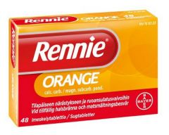 RENNIE ORANGE imeskelytabl 48 fol