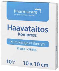 Pharmacare Haavataitos kuituk. 10x10cm X10 kpl