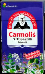 Carmolis sokeriton yrttipastilli