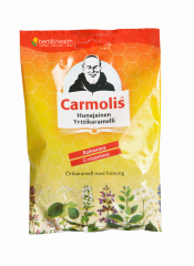 Carmolis Hunajainen Yrttikaramelli