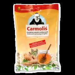 Carmolis Inkivääri-hunajakaramelli